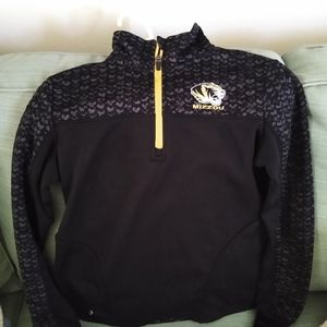 Mizzou quarter zip